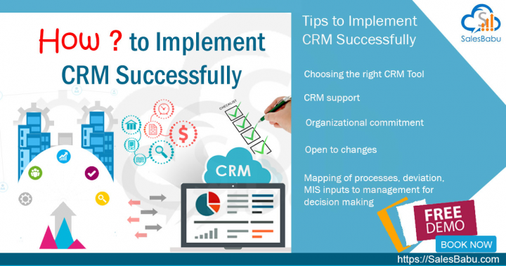 Tips to Implement CRM Successfully - SalesBabu Business Solutions Pvt. Ltd.