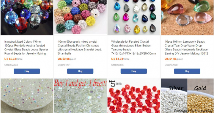 All Kind Of Crystal Beads